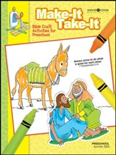 Bible-in-Life: Preschool Make It Take It Craft Book, Summer 2020