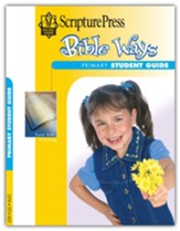 Scripture Press: Primary Grades 1-2 Bible Ways Student Guide, Summer 2020