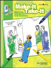 Bible-in-Life: Early Elementary Make It Take It Craft Book, Summer 2020