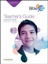 Bible-in-Life: Middle School Teacher's Guide, Summer 2020