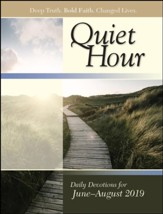 Bible-in-Life/Echoes: The Quiet Hour (Devotional Guide), Summer 2019