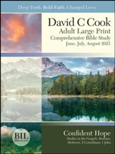 Bible-in-Life: Adult Comprehensive Bible Study Large Print Student Book, Summer 2021