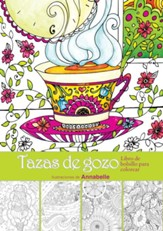 Tazas de gozo: Libro de bolsillo para colorear  (Cups of Joy: Pocket Coloring Book)