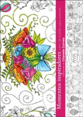 Momentos inspiradores: Libro de bolsillo para colorear (Inspiring Moments: Pocket Coloring Book)
