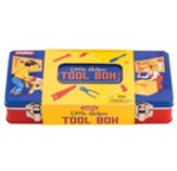 Little Helper Tin Tool Box with Tools