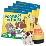 Footsteps for Fours Teacher's Edition (3rd Edition in a Bag)