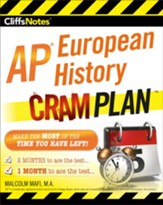 CliffsNotes AP European History Cram  Plan / New edition