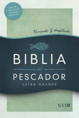 Biblia del Pescador NVI Letra Grande, Tapa Dura (Fisher of Men Large Print Bible)
