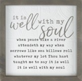 It Is Well With My Soul Framed Art