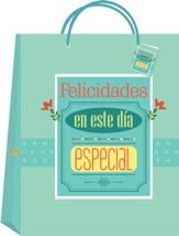 Felicidades bolsa de regalo, mediana (Congratulations Medium Gift Bag)