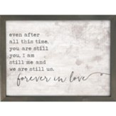 Forever In Love Framed Art