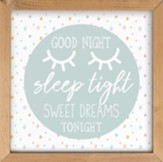 Good Night Sleep Tight Framed Art