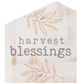 Harvest Blessings House Sign
