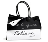 Don't Be Afraid, Button Up Tote