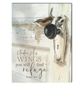 Under His Wings You Will Find Refuge Wall Art