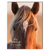 Be Strong in the Lord, Horse, Wall Art