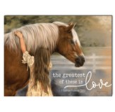 The Greatest of These Is Love, Horse, Wall Art