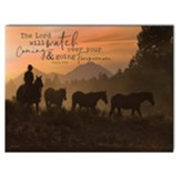 The Lord Will Watch Over Your Coming and Going Forevermore Wall Art