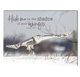 Hide Me In the Shadow of Your Wings Wall Art