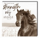 The Lord Is My Strength and My Shield, Horse, Wall Art