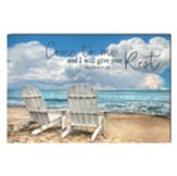 Come to Me and I Will Give You Rest Wall Art