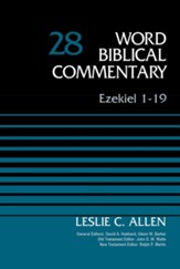 Ezekiel 1-19, Volume 28 - eBook