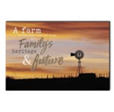 A Farm is More Than Land and Crops Wall Art