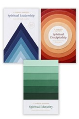 Spiritual Leadership, Spiritual Discipleship, Spiritual Maturity Set of 3 Sanders books / Digital original - eBook