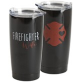 Firefighter Wife Stainless Steel Mug
