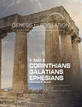 1&2 Corinthians, Galatians, Ephesians - Leader Guide, eBook  (Genesis to Revelation Series)