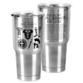 Full Armor of God Stainless Steel Tumbler