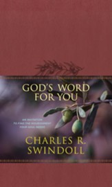 God's Word for You: An Invitation to Find the Nourishment Your Soul Needs - eBook