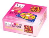 24 Game: Fractions & Decimals (96 Cards)