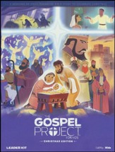 The Gospel Project for Kids: Christmas Edition DVD Leader Kit