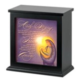 Hail Mary, Madonna and Child, Lighted Box