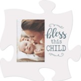 Bless This Child Puzzle, Photo Frame