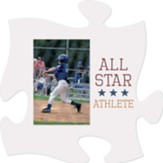 All Star Athlete Puzzle, Photo Frame