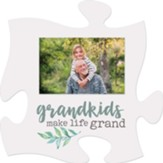 Grandkids Make Life Grand Puzzle, Photo Frame