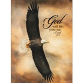 God Will Life You Up Wall Plaque