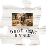 Best Dog Ever Puzzle, Photo Frame