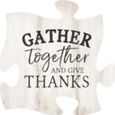 Gather Together And Give Thanks Puzzle Art