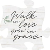Walk In Love Grow In Grace Puzzle Art