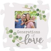 Generations Of Love, Carved, Puzzle, Photo Frame
