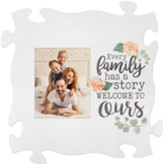 Every Family Had A Story, Carved, Puzzle, Photo Frame
