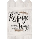 I Will Take Refuge In Your Wings, Wall Decor