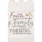 Faith In A God Who Provides, Wall Decor
