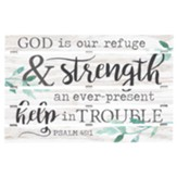 God Is Our Refuge And Strength, Pallet Art