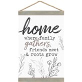 Home Is Where Family Gathers, Banner