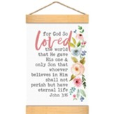 For God So Loved The World, Banner