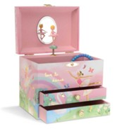 Ballerina Dream Jewelry Box, 2 Drawers
